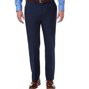 Haggar in Motion Performance Stretch Blue Pants